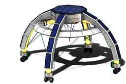 Lightweight Lunar gantry