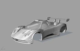 Pagani Zonda R - Scalextric Model