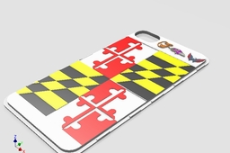 Maryland iPhone Back Case