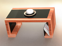 Coffee table rendering