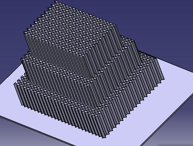 impact attenuator - CATIA,STL - 3D CAD model - GrabCAD