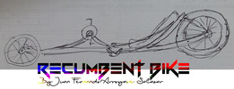 U-Bike DESIGN Tilting Recumbent Bike sketch Step-01