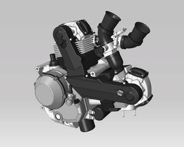 Ducati 1100 DS Engine