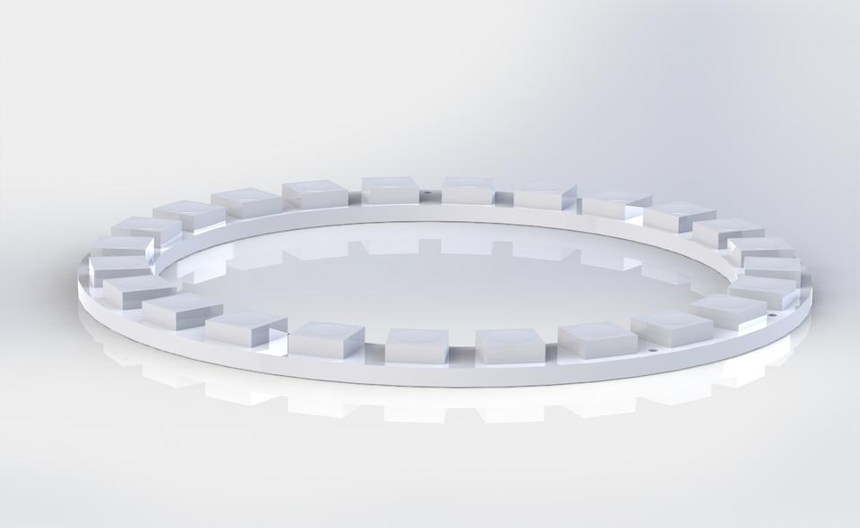 NeoPixel Ring -24x | 3D CAD Model Library | GrabCAD