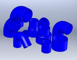 Silicon hose kit