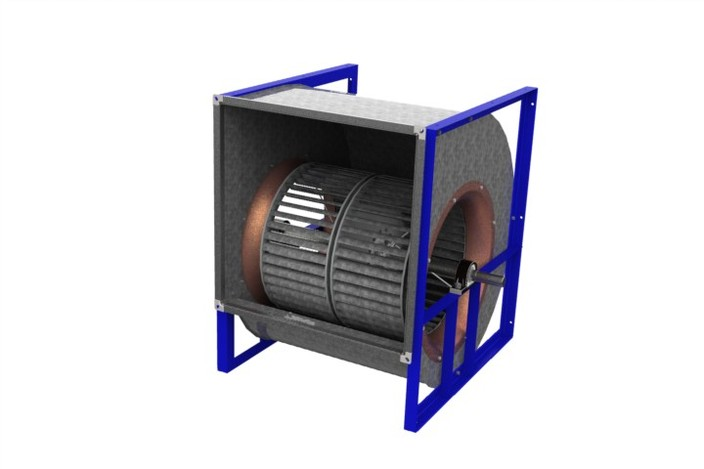 Double fan blower