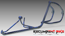 U-Bike DESIGN Recumbent Bike Frame Step-03