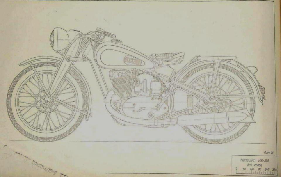 Blueprints old russian motorcycle iz 350 3d cad model library blueprints old russian motorcycle iz 350 3d cad model library grabcad malvernweather Images