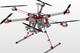 Drone model sj-S1900 STEP