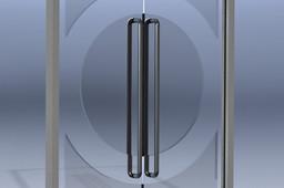 Glass Double Door