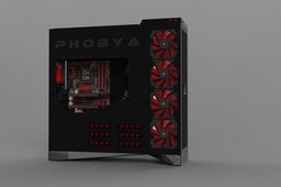 Phobya Case Monster
