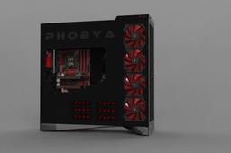 Phobya Case Monster