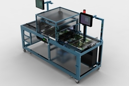 touch screen probe test machine
