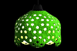 Icosahedron Lampshade