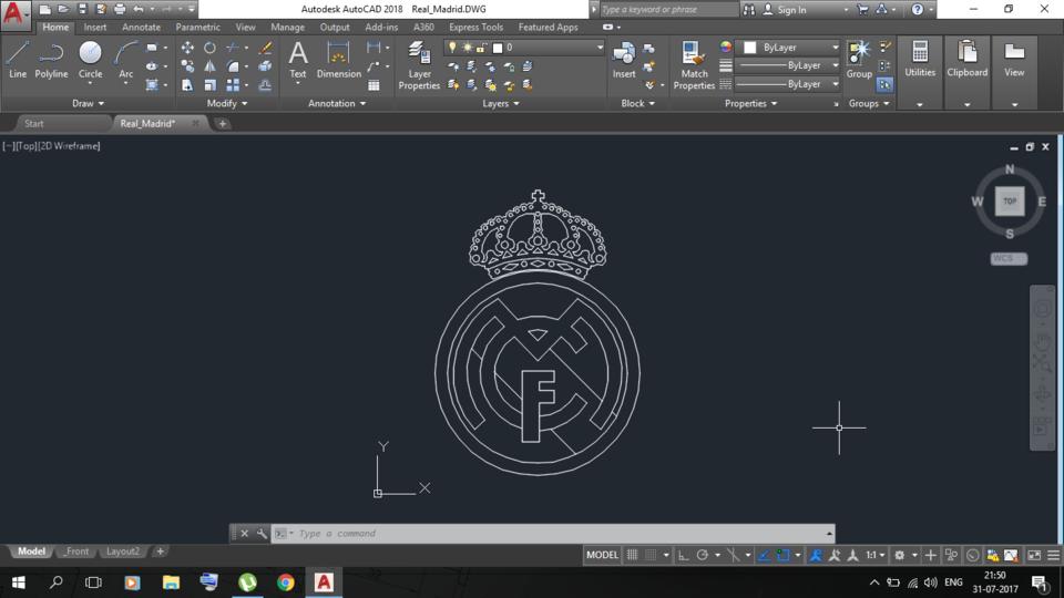 Real_Madrid | 3D CAD Model Library | GrabCAD