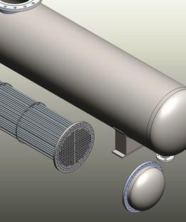 Heat exchanger  kettle reboiler  TEMA BKT