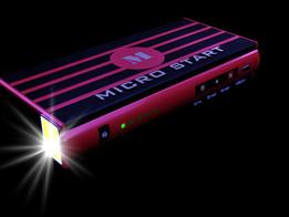 Micro start battery case