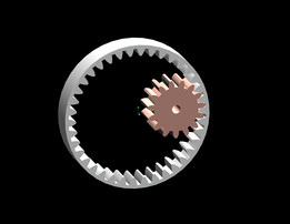 parametric spur internal/external gear