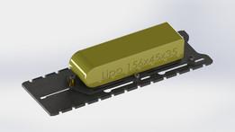 Lipo-Träger, Akku Schiene, Lipo holder, Lipo carrier
