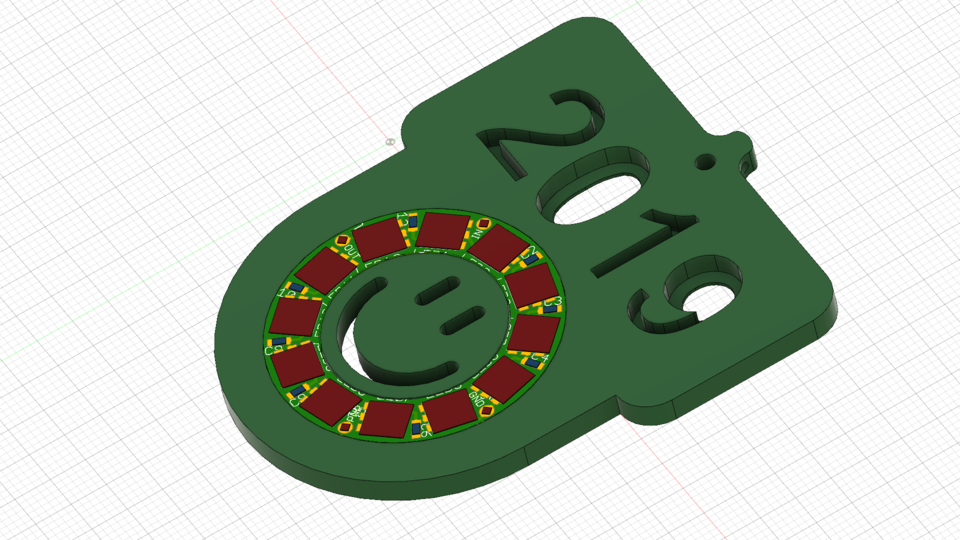 2019_New-Year-Swag | 3D CAD Model Library | GrabCAD