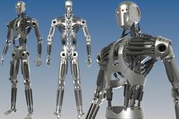Humanoid Robot Skeleton