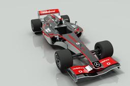 Mc Laren Mercedes F1