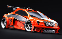 CyDesign B-group Rally Car