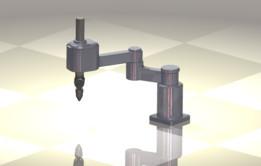 simple scara 3d model