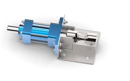 """Pneumatic clamp for 3/4"""" water faucet spindle"""