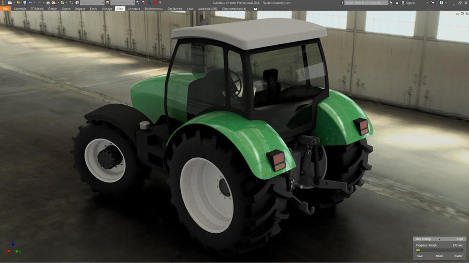 Deutz-Fahr Traktoren | 3D CAD Model Library | GrabCAD