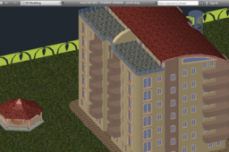 Apartment building (autocad)