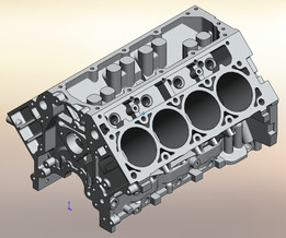 LS3 Engine Block