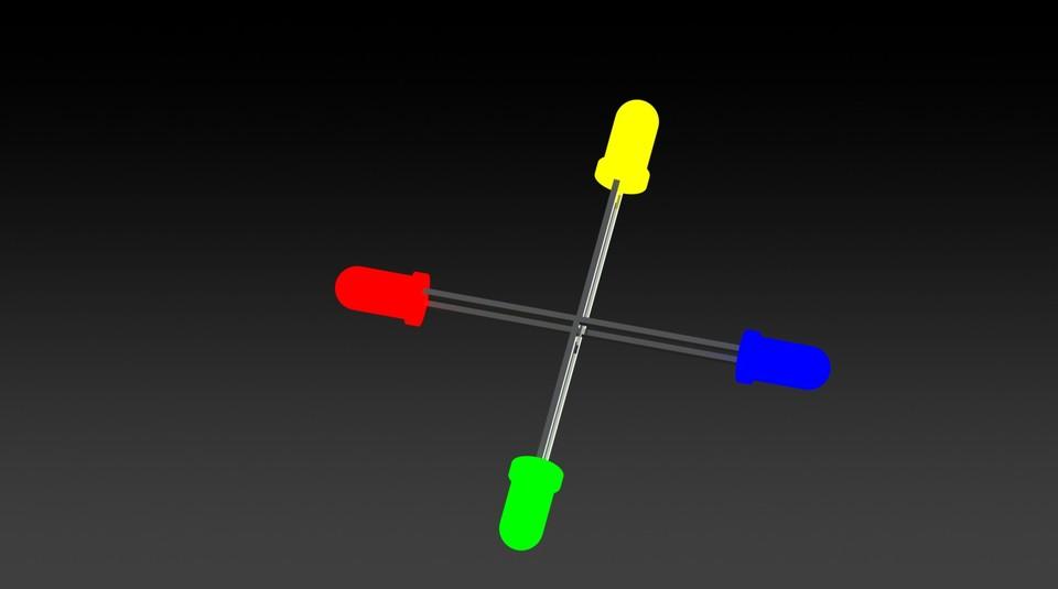 3mm LED | 3D CAD Model Library | GrabCAD