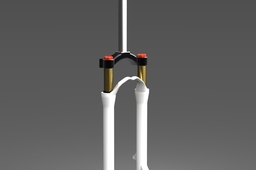 Bicycle - Single crown suspension fork
