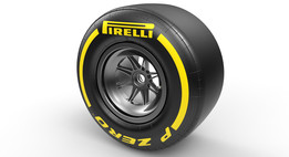 F1 2015 Tyre Dry Track 245/660-13 (Front)