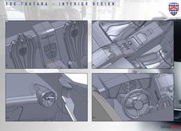 SSC Tuatara - Interior design