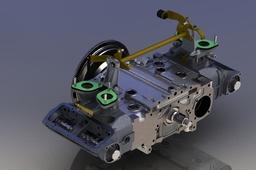 Engine Alfa Romeo Boxer semi-completo