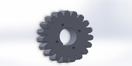 Spur Gear 19 teeth
