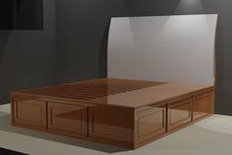 Stratton bed
