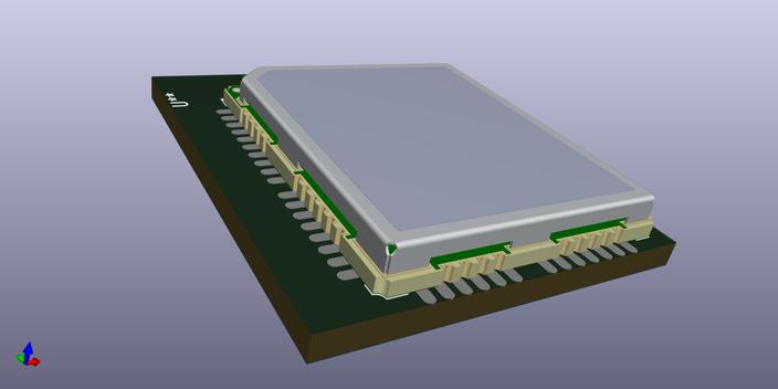 Quectel M95 | 3D CAD Model Library | GrabCAD
