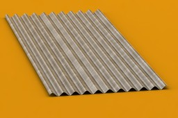 2.67″ x 7/8″ Corrugated Panels