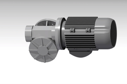 VF 49 Worm gear box with 1HP motor