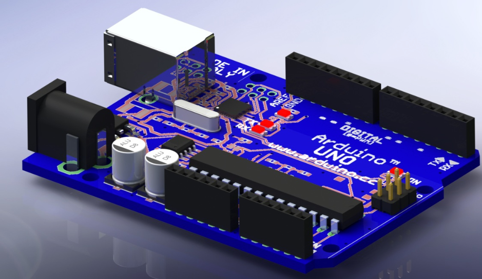 Arduino uno reference design d cad model library grabcad