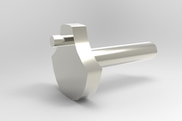 Simple Pneumatic Engine Crankshaft