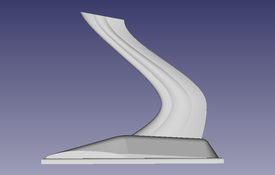 star trek model ship stand | 3D CAD Model Library | GrabCAD