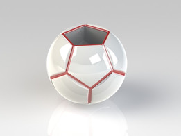 Round dodecahedron pot
