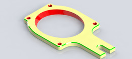 SPEED PROBE MOUNTING PLATE