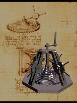 Da Vinci - globoid worm (3)