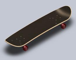 "7 3/4"" Skateboard"