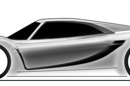 First sketch for the 2013 supercar challenge